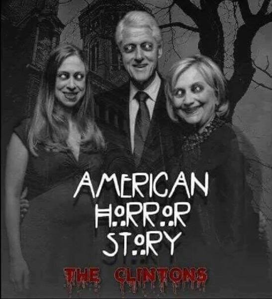 Image result for Clintons really are Freddy Krueger