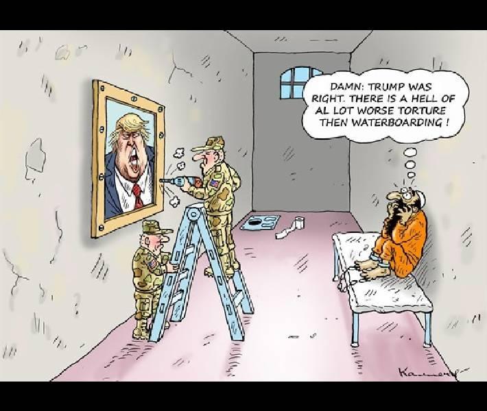 Donald Trump Visits Guantanamo Bay - ThePublicEditor.com