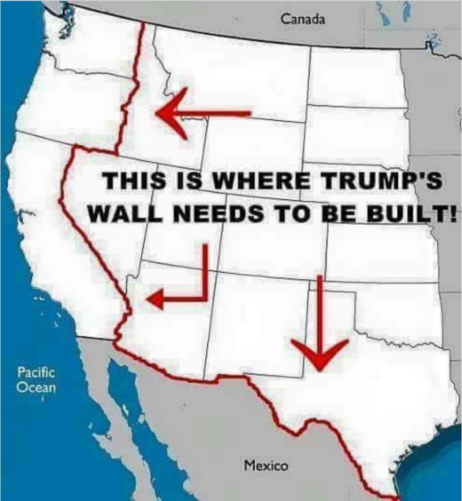 Build The Wall : Trump s new proposed border wall plan thepubliceditor
