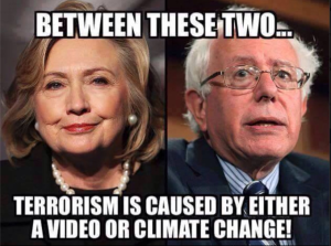 Hillary_Bernie_Video_Or_Climate_Change
