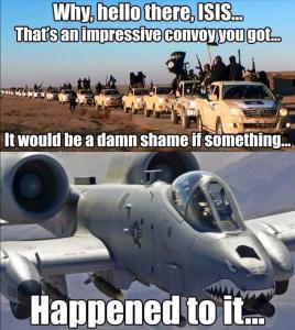 Isis_A10_Warthog_Caravan