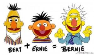 Bernie_Sanders_Bert_Plus_Ernie_Equal