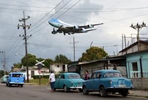 Cuba_AirForce_One_Overflies
