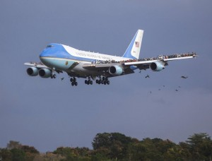 Illegal_Immigration_AirForceOne_Returns_From_Cuba