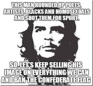 Che_No_Confederate_Flag_Here