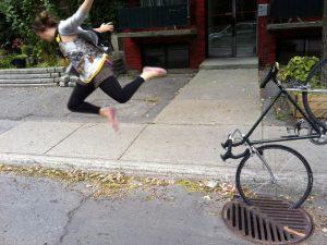 Fails_Bike_Wheel_Storm_Drain