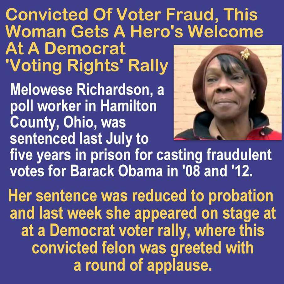 Image result for voter fraud convictions