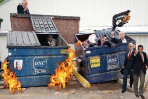 Hillary_Trump_Dumpster_Fires