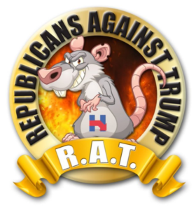 GOPe_RAT_Republicans_Against_Trump