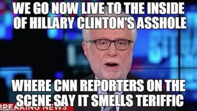 Hillary_Wolf_Blitzer_Says_Hillarys_Asshole_Smells_Good