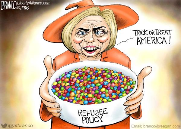 Donald and Hillary's Halloween Strategies