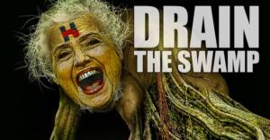 drain_the_swamp_hillary_swampmoss_creature
