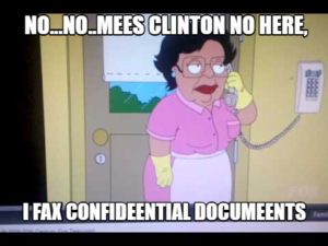 hillary_maid_dusts_classified