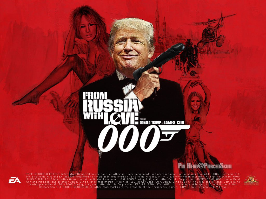 From Russia, With Love, ??????? (Donal'd) - ThePublicEditor.com