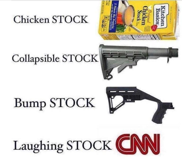 """FakeNews CNN Reports """"Four Types of Stocks"""""""