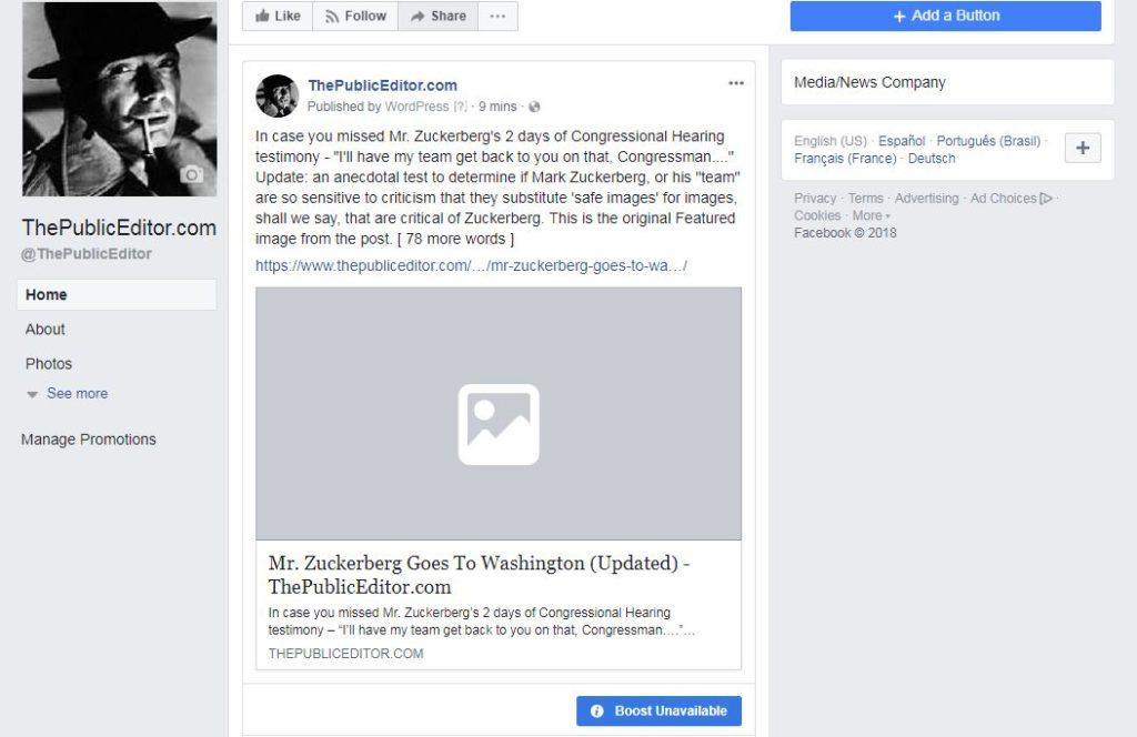 Facebook Archives - ThePublicEditor com