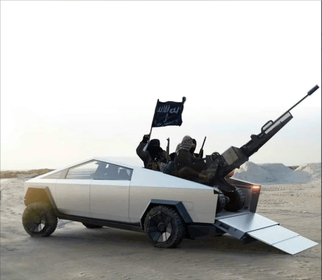 Elon's_Mechanical_ISIS_Gets_It's_Green_On