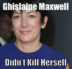 Awww Poor Jizlaine 'Awakened by flashlight every 15 minutes' Ghislaine_Maxwell_Didnt_Kill_Herself_Yet_11-300x287
